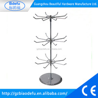 Rotating organizer jewelry display stand , keychain display rack,countertop display stand