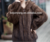 Classic design natural black mink fur coat from China