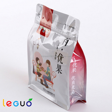 Wholesale Aluminum Foil Stand Up Zipper Pouch For Nuts Food Packaging