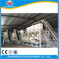 Rotexmaster factory bagasse rice bran wood sawdust turkey wood pellet machine
