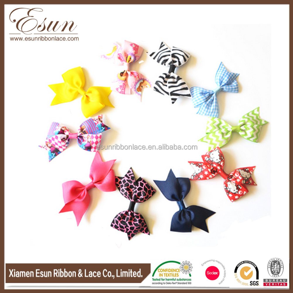 Ribbon hair bow korean hair pins