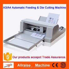 Automatic A3 A4 Paper Feeding And Label Die Cutting Machine
