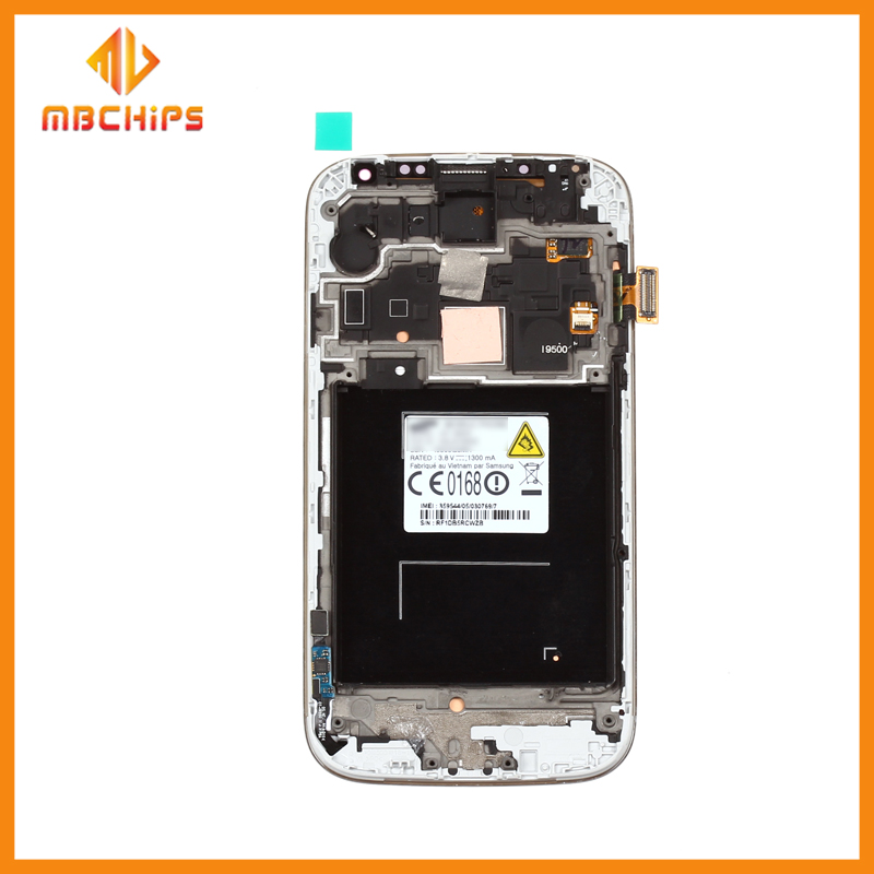 Wholesale for samsung galaxy s4 i9500 lcd + touch screen screen/lcd screen for samsung s5