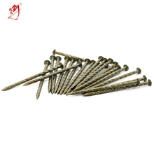 polished spiral galvanized steel nails for furniture