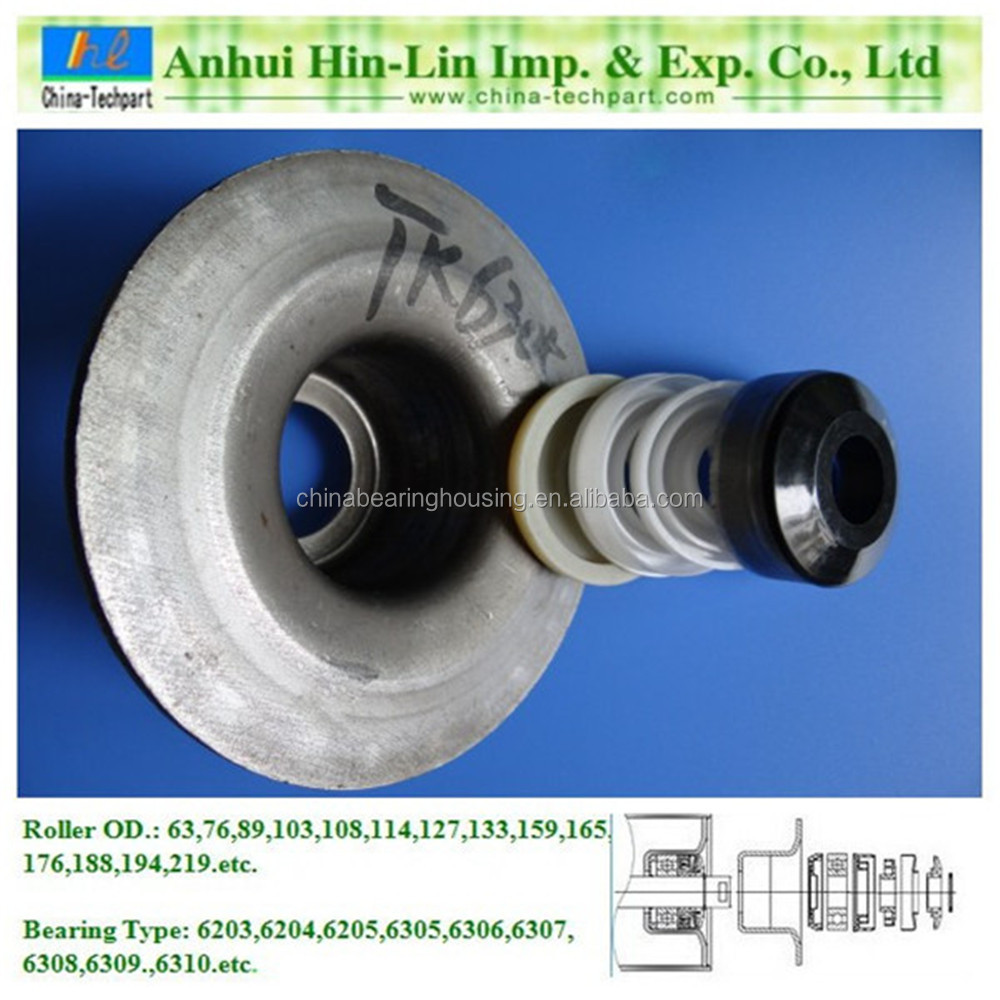 roller beairng housing/stand/base/block TK6206-136 for 141mm pipe