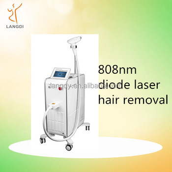 Shenzhen Langdi 808nm diode laser hair removal machine permanent hair removal machine