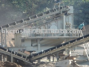 Rock crushing line/Aggregate Crushing Plant/stone production line