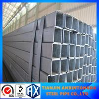 gi square section!galvanized pipe best manufacture!galvanized steel square/rectangular pipe