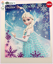 China import toys Printed puzzle factory DIY jigsaw oem frozen board game custom