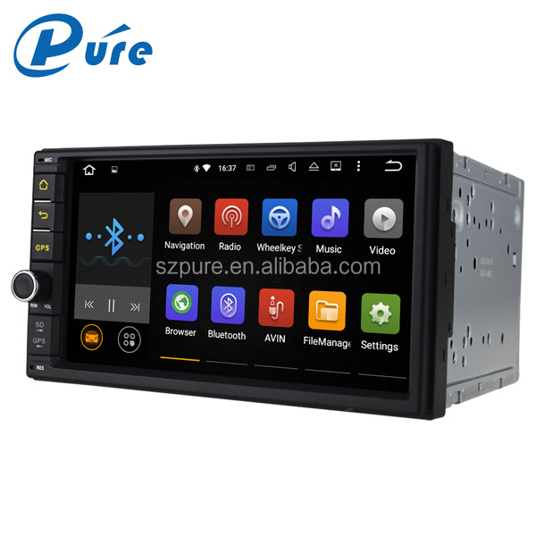 7 inch Touch Screen 2 Din Android5.1.1 Multimedia Car DVD Player with GPS Navigation System Support 3G,WIFI and Bluetooth