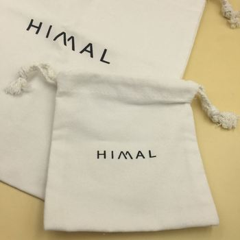 Multiple Size Natural Drawstring Gift Cotton Pouch / Cotton Jewelry Bag / Cotton Bag with Drawstring