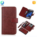 New products for Samsung Galaxy S8 mobile phones accessories credit card case PU leather