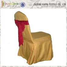 Plain colored cheap fancy colorful spandex chair covers hotel