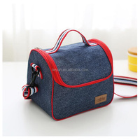 Fashion Top Quality Jeans Cooler Bags Lunch Bags Picnic Bags Wholesale