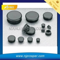 Plastic Round Pipe End Plugs and Inner caps for chair legs