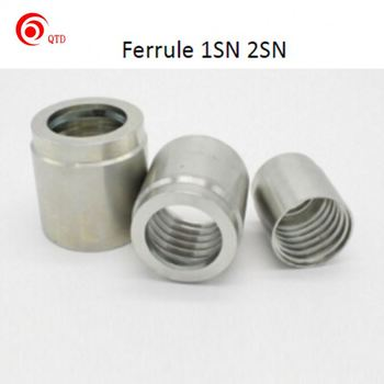 China manufacture carbon steel/brass rubber hose joint hose fittings