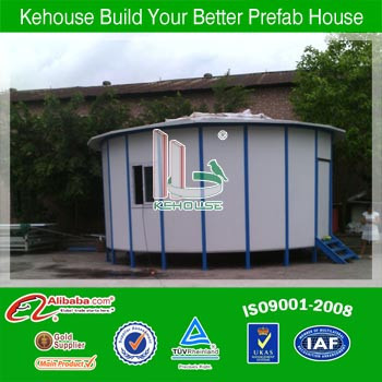 kehouse hot sale prefab house in ger design