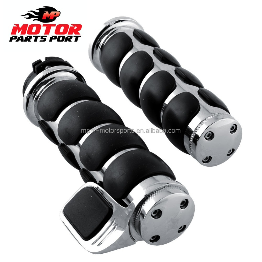 handlebar grips chrome Custom for harley 25mm & 22mm