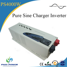 dc to ac home 4kw solar pump power inverter 24v48v 220v 4000w low frequency inverter with charger