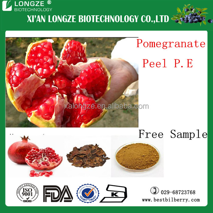 Pomegranate Plant Base Factory Pomegranate Peel Extract