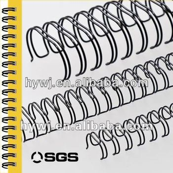 Double binding wire-o for book binder