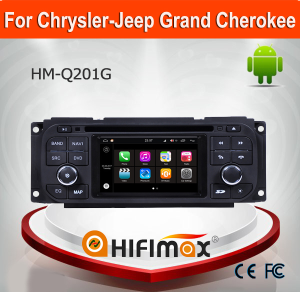 HIFIMAX Andriod 7.1 Touch Screen For Jeep Liberty Car DVD GPS For Dodge Caravan Car Radio With GPS Quad Core 3G INTERNET DVR