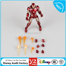 Toy Factory Direct Custom Marvel Comics Moveable Super Hero Action Figures