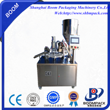 semi automatic plastic tube filling and sealing equipment /plastic tube sealer machinery