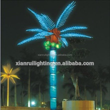 outdoor led coconut tree with factory price,long life span waterproof tree lights for street park square