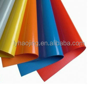High quality PVC Glossy Laminated Tarpaulin/Tent fabric used for truck cover