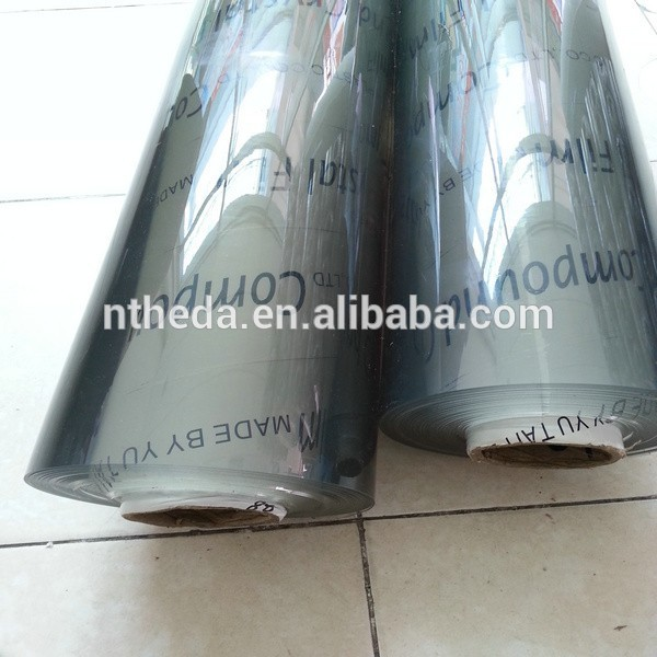 Economic and Reliable Super clear pvc for packing with certificate