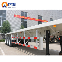 Flatbed 40ft 20ft container trailers container transport semi trailer container transporter