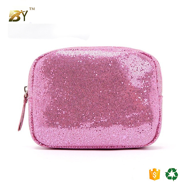 Sequin Cosmetic Bags Makeup Cases Pouches Wholesale Coin Bags