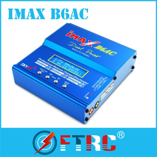 RC helicopter/car/boat power balance charger/discharger ImaxB6AC