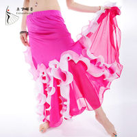 Q00757 Pictures Fashionable Long Dance Skirts for Women