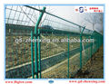 Eco-friendly tennis court PVC-coated security fence netting