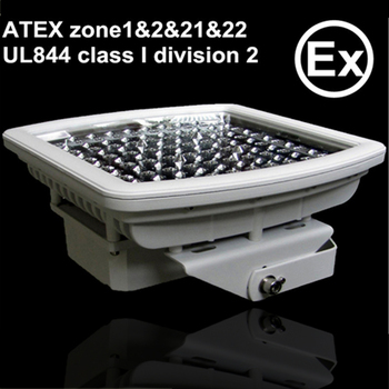 ADC12 die cast aluminum ATEX UL844 80w explosion proof led light