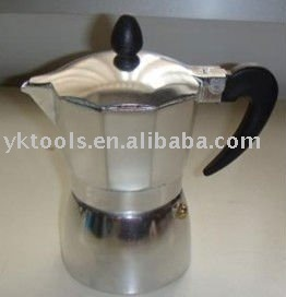 hot selling aluminum coffee maker (KPC-SN100A-900A)