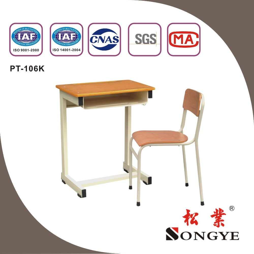 SONGYE student single desk and chair for primary school