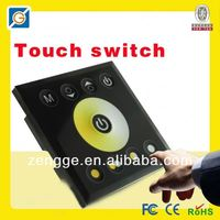 Touch one gang two way switch for color changing led lights