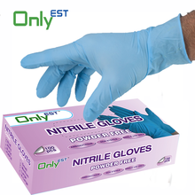 High quality AQL 1.5 medical use disposable surgical gloves nitrile