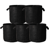 ORIENTRISE 5-Pack 10 Gallon smart Grow Bags for Potato/Plant Container