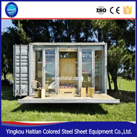 2016 pop hot sale new factory wholesale light steel house prefab house and villa
