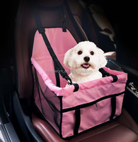Pet Car Travel Seat Bag, Portable Pet Dog Seat Carrier for Car, Pet Dog Booster Seat Carrier