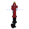 3 way cast iron fire hydrant