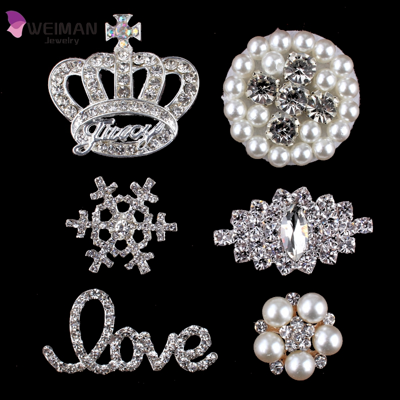 Cloth Decoration Crystal rhinestone button