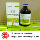 Bolai volaille pharmaceutiques Ivermectine injection 1% 100 ml/bouteille en verre