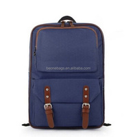 trendy dark blue cool senior high school student book bags