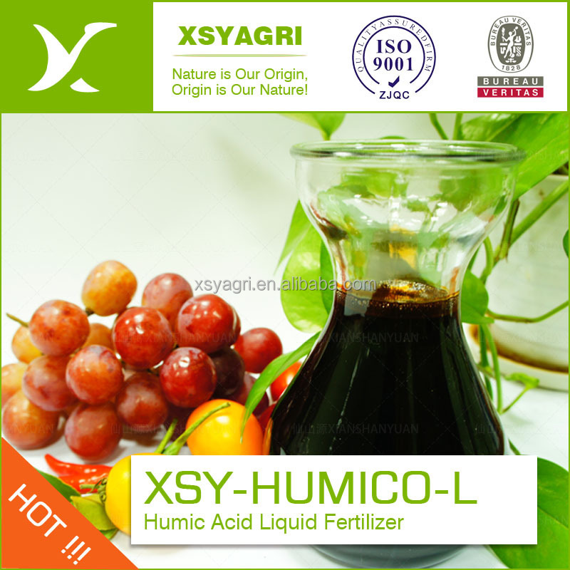Organic Potassium Natural Humic Acid Liquid Fertilizer