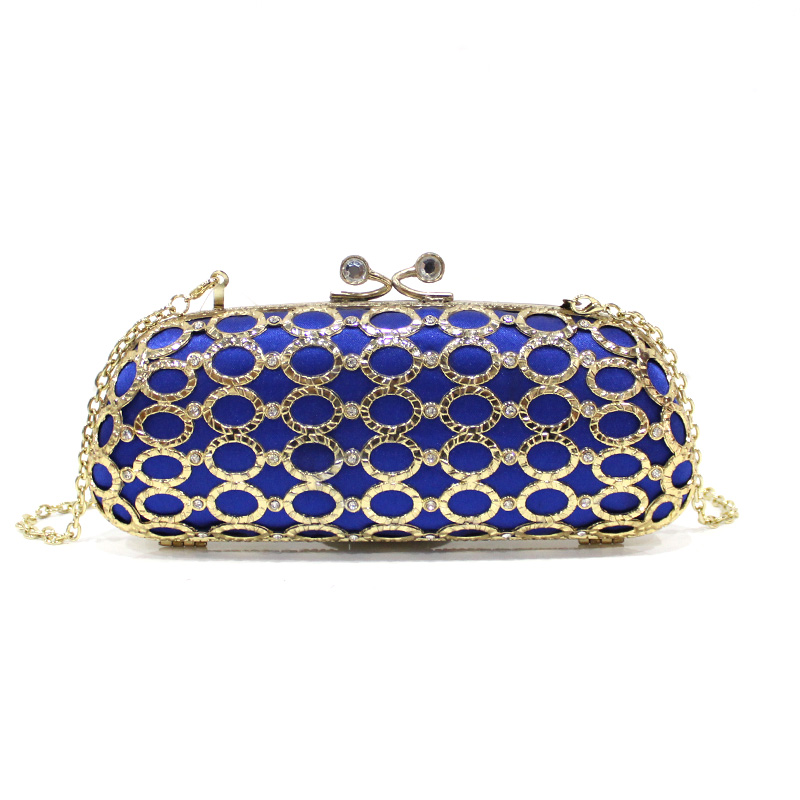 Hot selling good quality exquisite pearl minaudiere evening bag